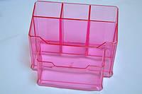 Подставка для пилок на 5 секций ( Розовая )
