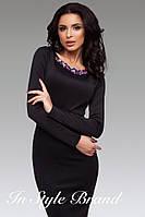 Ц1584 Платье с украшением