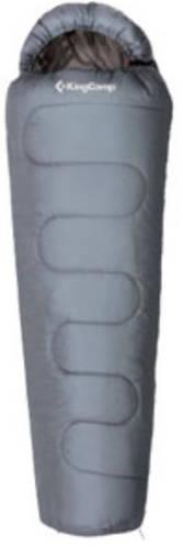 Комфортный спальный мешок KingCamp Treck 300(KS3131) / -3°C, L Grey 94892 серый