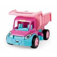 Большой игрушечный грузовик Гигант для девочек (без картона)