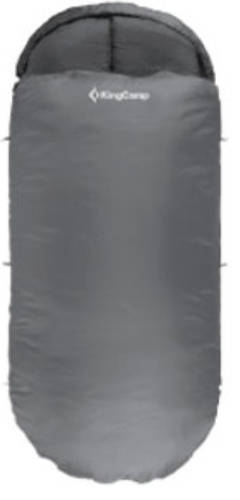 Серый спальный мешок KingCamp Freespace 250(KS3168) / 7°C, R Grey 93934
