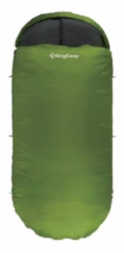 Прочный спальный мешок KingCamp Freespace 250(KS3168) / 7°C, R Green 93933 зеленый