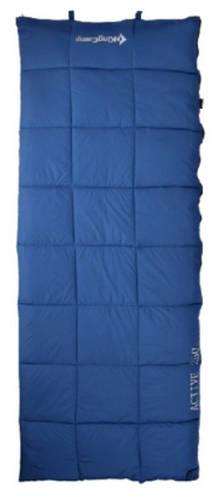 Уютный спальный мешок KingCamp ACTIVE 250(KS3103) / 6°C, R Blue 95115 синий
