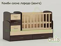"""Кровать - трансформер """"Maya"""" ORIS-mebel (цвет Комбинированный)"""