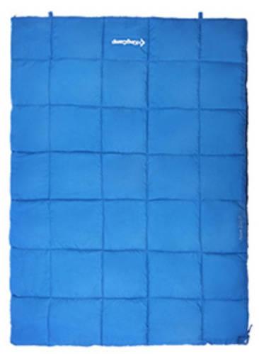 Надежный спальный мешок для двоих KingCamp ACTIVE 250 DOUBLE(KS3189) / 5°C, R Blue 93962 синий