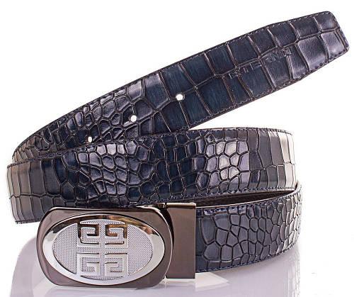 Красивый мужской кожаный двухсторонний ремень ETERNO (ЭТЕРНО) ETS2406-10