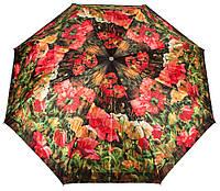 Автоматический женский зонт в цветочный сад ZEST (ЗЕСТ) Z53964-7 Антиветер!