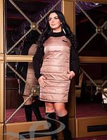 Комфортное теплое платье для зимнего отдыха