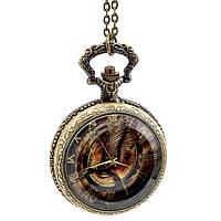 Карманные кварцевые часы Сойка-пересмешница Голодные игры The Hunger Games
