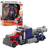 Трансформер Оптимус Прайм 2 в 1 Transformers Боевые роботы: 17см