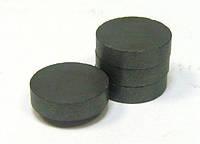 Магнит ферритовый. диск 15х3 мм