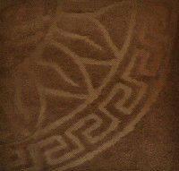 Простынь-покрывало микрофибра VERSACE - коричневое