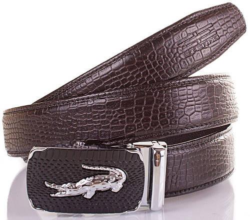 Шикарный мужской кожаный ремень ETERNO (ЭТЕРНО) ETS0906-2-10