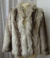 Шуба женская полушубок искусственный мех бренд Miss Selfidge р.38-42 4569а