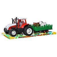 Трактор с прицепом детский арт. 0488-130
