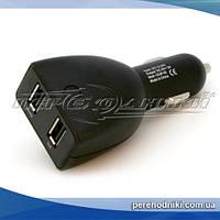 Автомобильное зарядное устройство USB 5V 3A (2USB)