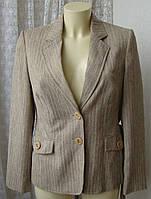 Пиджак женский элегантный офис бренд Marks&Spencer р.48 4589