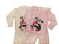 Пижама детская интерлок на возраст от 1 до 5 лет