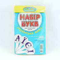 Веер букв украинского алфавита