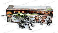 Дракон 28109 робот,рептилия Fire Dragon Радиоуправляемый Детский робот Игровая рептилия Свет+звук