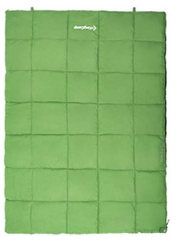 Зеленый спальный мешок для двоих KingCamp ACTIVE 250 DOUBLE(KS3189) / 5°C, R Green 55794
