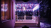 Гирлянда бахрома 200 LED 4,5 на 0,55 м - яркий атрибут незабываемого праздника