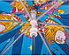 Игривый детский зонт-трость механический AIRTON (АЭРТОН) Z1551-6 Цирк, фото 6