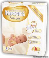 Подгузники Huggies Elite Soft 2 (4-7 кг) 88шт