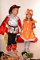 Детский новогодний костюм. Новогодний костюм лисички. Карнавальный костюм.Новогодний костюм для девочки.