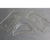 Вырубка для мастики Пинетка прозрачная ажурная