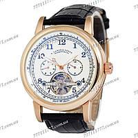 Часы мужские наручные A.Lange & Sohne Glashutte Gold/White