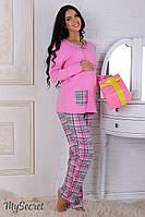 Пижама Sugar для беременных и кормления (розовый)