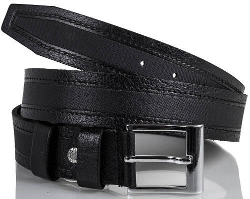 Стильный мужской кожаный ремень Y.S.K. (УАЙ ЭС КЕЙ) SHI4-2032