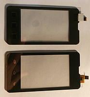 Сенсор Prestigio Multiphone 3350 DUO тачскрін чорний