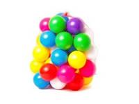 Набор шариков для сухого бассейна 026 Бамсик, большие 40 штук