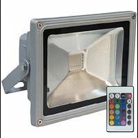 Светодиодный LED прожектор RGB 30Вт IP65 220В