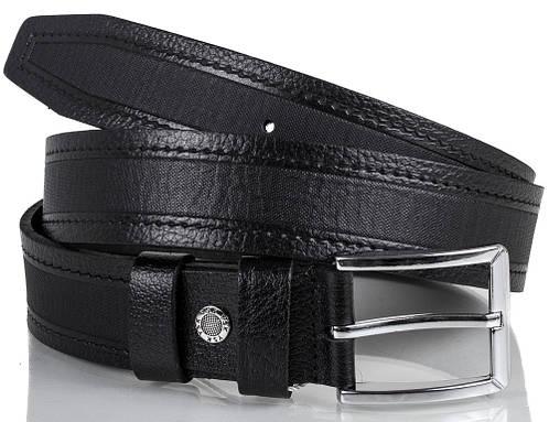 Шикарный мужской кожаный ремень Y.S.K. (УАЙ ЭС КЕЙ) SHI2032