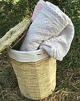 Полотенце махровое 90х150 хлопок BULDANS ORIENT серый