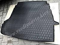 Коврик в багажник HYUNDAI Sonata VIl с 2010 г. (AVTO-GUMM) пластик+резина