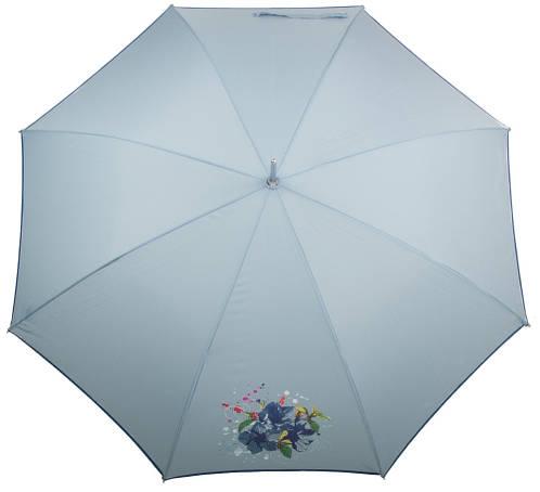 Красивый зонт-трость женский полуавтомат AIRTON (АЭРТОН) Z1621-4