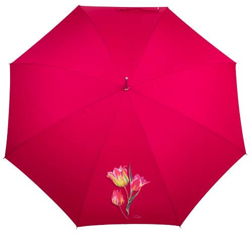 Красочный зонт-трость женский полуавтомат AIRTON (АЭРТОН) Z1621-7