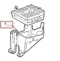 Крышка блока предохранителей нижняя Fiat Doblo