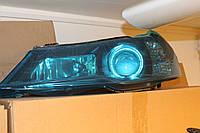 Фара Нексия 2008- передняя левая (+ангельские глазки) JH01-NEX08-001B