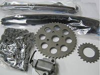 Комплект ГРМ Fiat Doblo 1.3MJTD 16v (цепь+2 звёздочки+2 успокоителя+натяжитель)