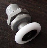 Ролик для гидробокса exсentric XD-039: одинарный, 19 мм, пластик