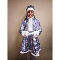Карнавальный костюм хрустальной снегурочки