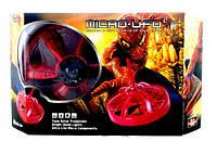 Летающая тарелка micro UFO/ нло Spiderman Человек паук на аккумуляторе