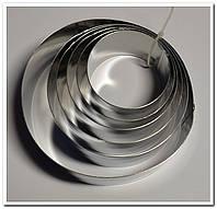 Набор круглых форм для выкладки гарниров и десертов 6 предметов в коробке