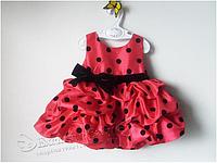 Стильное нарядное платье для девочки 3-6 мес и 6-12 мес