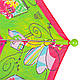 Яркий зонт-трость облегченный детский полуавтомат AIRTON (АЭРТОН) Z1651-2, фото 5